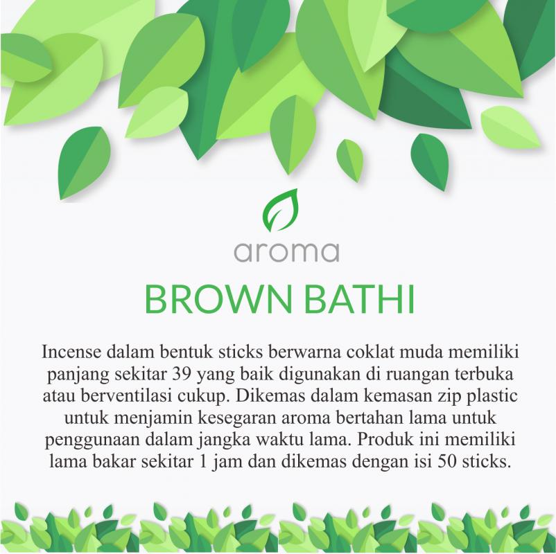 Brown Bathi